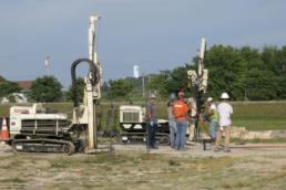 gasoline release site